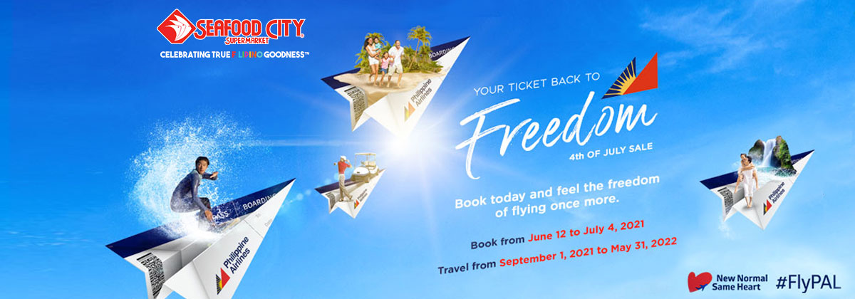Philippine Airline Freedom 4th of July Sale