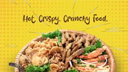 Hot Crispy Crunchy Food
