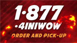 Call 1-877-4INIWOW and Order Now!