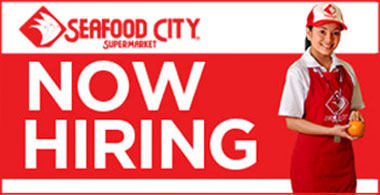 Be part of the Seafood City family.